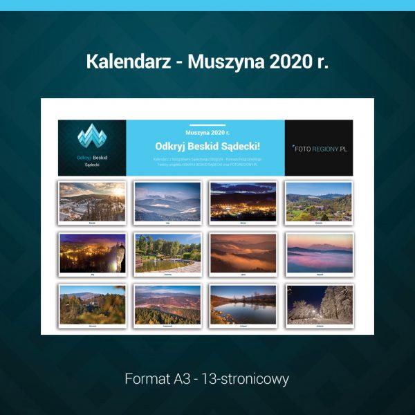 Kalendarz Muszyna 2020 r.