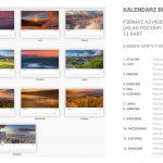 Fotokalendarz Beskid Sądecki 2021 r. A3 pion i poziom