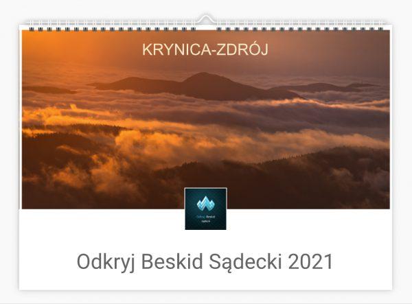 Fotokalendarz Krynica-Zdrój 2021 r. A3 poziom