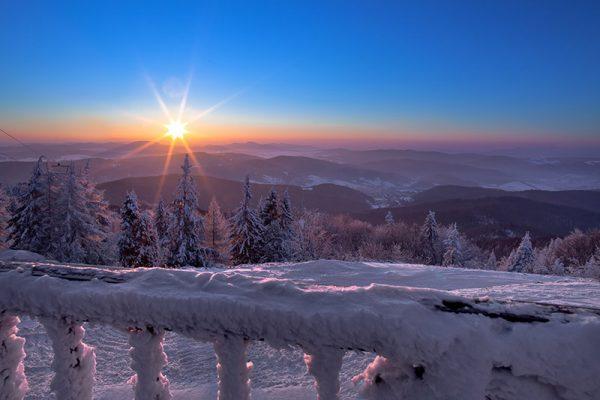 Fotoobraz – Na Jaworzynie Krynickiej zimą #2 #04287