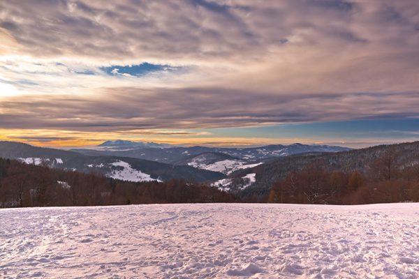 Fotoobraz – Bacówka nad Wierchomlą i okolice zimą #12920