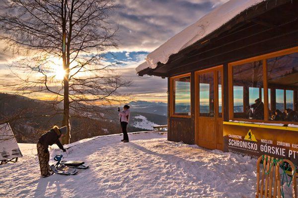 Fotoobraz – Bacówka nad Wierchomlą i okolice zimą #12930