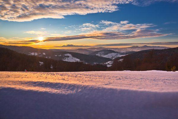 Fotoobraz – Bacówka nad Wierchomlą i okolice zimą #12938