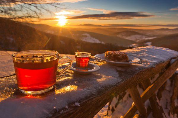 Fotoobraz – Bacówka nad Wierchomlą i okolice zimą #12942