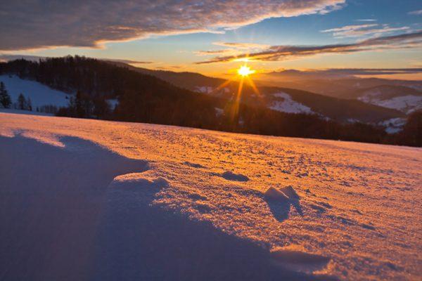 Fotoobraz – Bacówka nad Wierchomlą i okolice zimą #12962