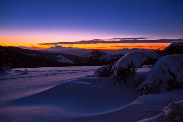 Fotoobraz – Bacówka nad Wierchomlą i okolice zimą #12966