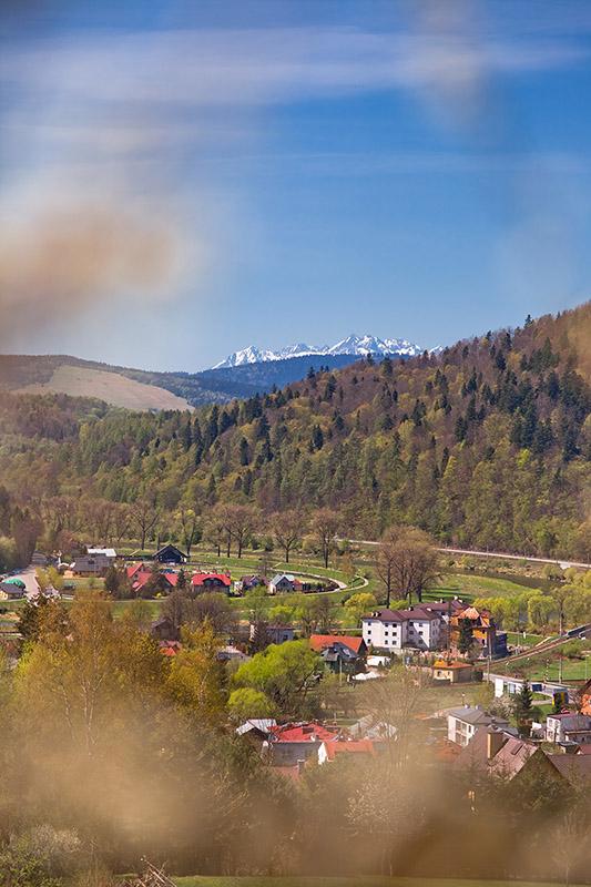 Fotoobrazy – Wiosenna Muszyna – Dolina Popradu #04362
