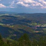 Fotoobraz – Widok z Jaworzyny Krynickiej wiosną #06384