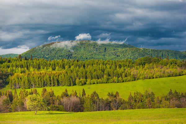 Fotoobraz – Widok z góry Łan nad Tyliczem #17220
