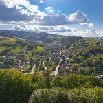 Fotoobraz – Wiosenne wzgórza w Rytrze z Ryterskiego Zamku #17863