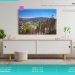 Fotoobrazy – Panorama z wzgórza zamkowego Baszta w Muszynie #03681