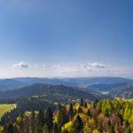 Fotoobraz – Panorama z Wieży Widokowej na Słotwinach w Krynicy-Zdroju #06100